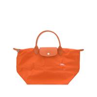 Longchamp Bolsa Tote Le Pliage Club Média - Laranja