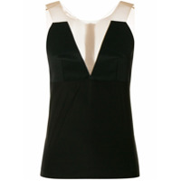 Rick Owens Blusa 'prong Bustier' - Preto