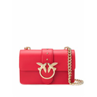 Pinko Bolsa Transversal Soft Simply Mini Love - Vermelho