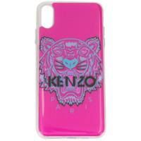 Kenzo Capa Tiger Para Iphone Xs Max - Roxo