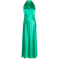 Saloni Vestido Midi Michelle - Verde