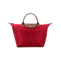 Longchamp Bolsa Tote Le Pliage Média - Vermelho