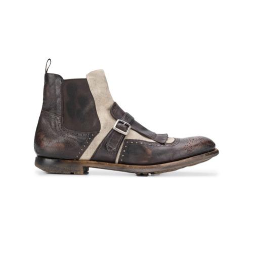 Imagem de Church's ankle oxford boots - Marrom