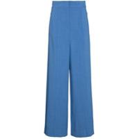 Roksanda Calça De Alfaiataria - Azul
