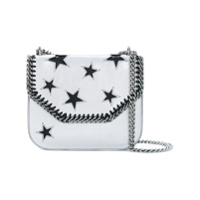 Stella Mccartney Bolsa Tiracolo 'falabella Box Stars' - Cinza