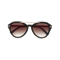 Tom Ford Eyewear Óculos De Sol 'ft0576S' - Marrom