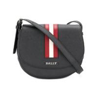 Bally Bolsa Tiracolo 'supra Body' De Couro - Preto