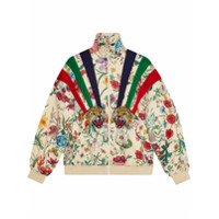 Gucci Jaqueta Com Patches - Neutro