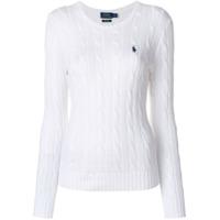 Polo Ralph Lauren Suéter De Tricô - Branco