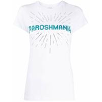 P.a.r.o.s.h. Camiseta Paroshmania Com Aplicação - Branco