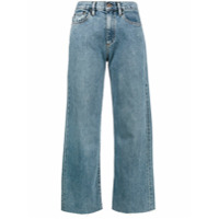 Simon Miller Calça Jeans Pantacourt Cintura Alta - Azul