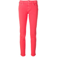 Jacob Cohen Calça Jeans Skinny Big Bubble - Rosa