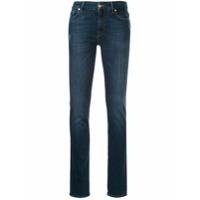7 For All Mankind Calça Jeans Reta Kimmie - Azul