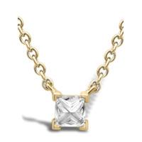 Pragnell Colar Rockchic De Ouro 18K Com Diamante - Dourado