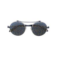 Givenchy Eyewear Óculos De Sol 'estrelas' - Preto