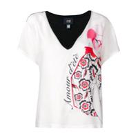 Cavalli Class Camiseta Amour - Branco