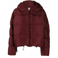 Bacon Cropped Puffer Jacket - Vermelho