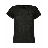 Uma | Raquel Davidowicz T-Shirt Cabo Canelada - Preto