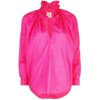 A Shirt Thing Frill Collar Blouse - Rosa