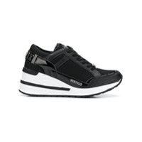 Plein Sport Platform Runner Sneakers - Preto