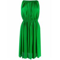 Gianluca Capannolo Pleated Mini Dress - Verde