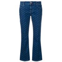 Stella Mccartney Calça Jeans Flare Kick - Azul