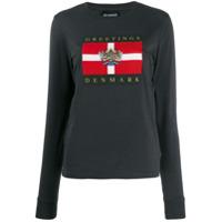 Han Kjøbenhavn Camiseta Greetings Denmark - Cinza