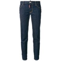 Dsquared2 Calça Jeans Skinny Cropped - Azul