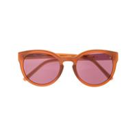 Linda Farrow Óculos De Sol 'philip Lim 130' - Marrom