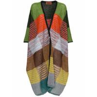 Missoni Cardigã De Tricô - Multicolour