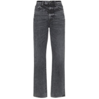 Slvrlake Calça Jeans London Cintura Alta - Preto