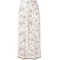 Alysi Calça Floral - Neutro
