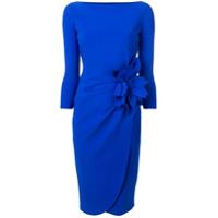Le Petite Robe Di Chiara Boni Vestido Midi Slim - Azul