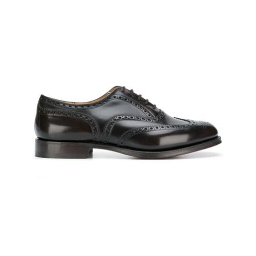 Imagem de Church's Sapato oxford de couro envernizado - Marrom