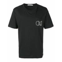 Calvin Klein Jeans Outline Logo T-Shirt - Preto