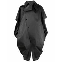 Bottega Veneta Trench Coat Com Pelerine Removível - Marrom