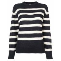 Khaite Suéter De Cashmere Listrado - Azul