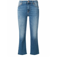 7 For All Mankind Calça Jeans Cropped - Azul