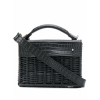 Wicker Wings Mini Kuai Tote - Preto