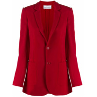 Red Valentino Single-Breasted Blazer - Vermelho