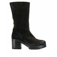 Strategia Ankle Boot Com Salto - Marrom