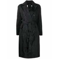 Mackintosh Trench Coat Laurencekirk Com Cinto - Preto