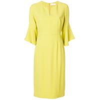 Mantu Vestido Midi - Amarelo