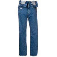 Diesel Red Tag Jardineira Jeans - Azul