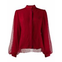 Atu Body Couture Blusa Com Sobreposição - Vermelho
