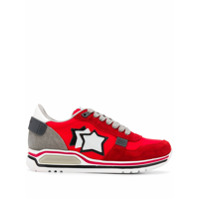 Atlantic Stars Star Patch Sneakers - Vermelho