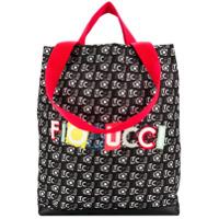Fiorucci Bolsa Tote Com Logo - Preto