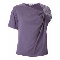 Ground Zero Camiseta Drapeada - Roxo