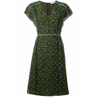 Fendi Vestido Com Aplicações - Green