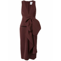Acler Vestido Mancroft - Vermelho